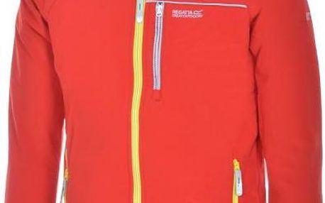 Dětská zateplená softshellová bunda REGATTA RKL054 JOLLY Peppr(BiWng)