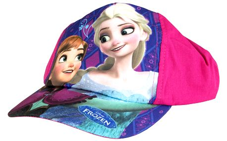 Dětská kšiltovka Frozen Disney růžová