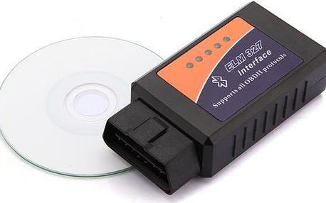 Bluetooth autodiagnostika ELM 327 V 1,5 OBD2 - dodání do 2 dnů