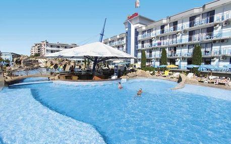 Bulharsko - Slunečné Pobřeží na 8 až 15 dní, polopenze s dopravou letecky z Prahy nebo autobusem 200 m od pláže