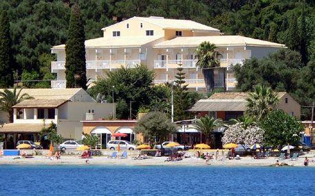 Řecko - Korfu na 8 až 11 dní, all inclusive nebo polopenze s dopravou letecky z Prahy 80 m od pláže