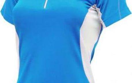 Dámské sportovní tričko Dare2B DWT095 REGAIN JERSEY Methyl Blue