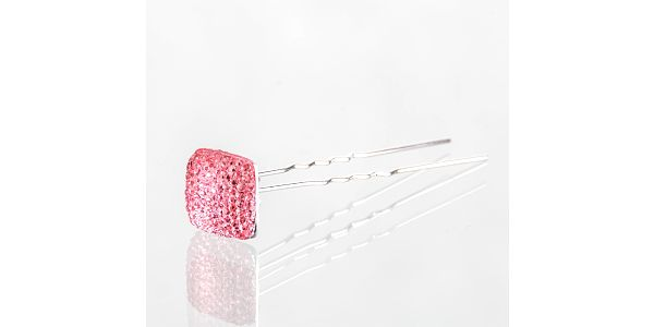 Fashion Icon Vlásenka do vlasů čtverec s krystalky