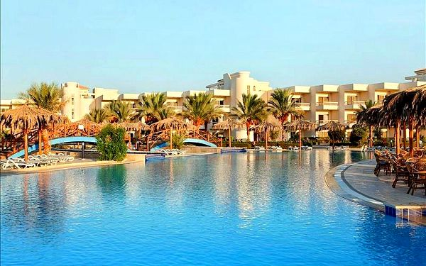 Egypt - Hurghada na 8 až 15 dní, all inclusive s dopravou letecky, letecky z Prahy nebo letecky z Brna přímo na pláži