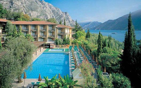 Itálie - Lago di Garda na 8 dní, all inclusive s dopravou vlastní 100 m od pláže