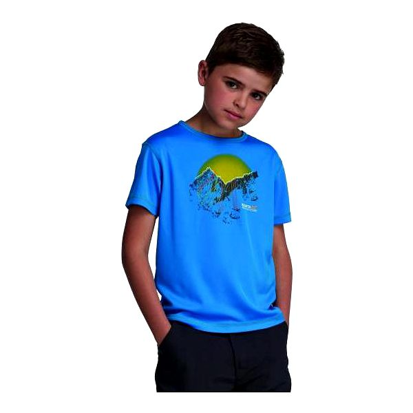 Dětské juniorské triko Regatta RKT053 ABIS French Blue