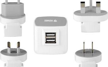 YENKEE YAT 202 Cestovní adaptér USB 3.5A - 35045892