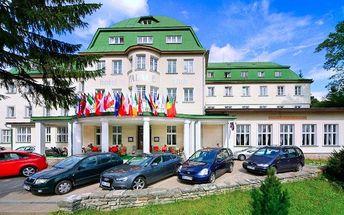 Rodinná dovolená s all inclusive ve Špindlu