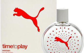 Puma Time to Play Woman toaletní voda 90ml pro ženy