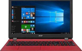 Acer Aspire E15 (ES1-571-P73C) (NX.GCGEC.002) červený + dárek Monitorovací software Pinya Guard - licence na 6 měsíců (zdarma)+ dárek Tiskárna multifunkční HP Ink Advantage 2130 A4, 7str./min, 5str./min, 1200 x 1200, USB - bílá (zdarma) + Software za z