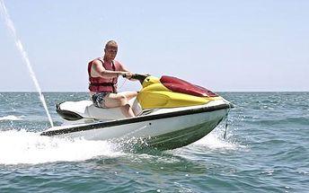 Zážitková jízda na vodním skútru v délce až 60 minut