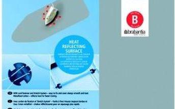 Brabantia Bavlněný potah 124x38 Stříbrný s reflexní vrstvou