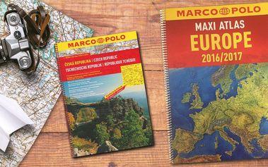 Autoatlas ČR a Maxi Atlas Evropa - Marco Polo