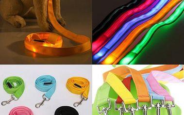Vodítko s LED světly