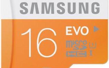 Samsung Micro SDHC EVO 16GB Class 10 - (MB-MP16D/EU)