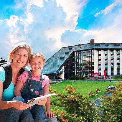 Nabitá letní rodinná dovolená v Harrachově