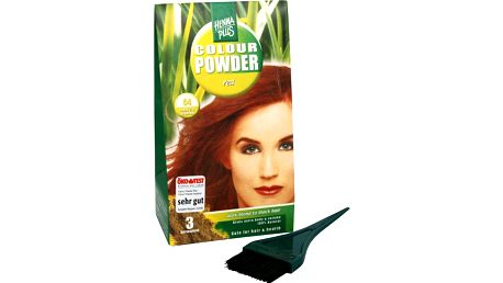 HennaPlus Přírodní prášková barva (Colour Powder) 57 Tmavě hnědá