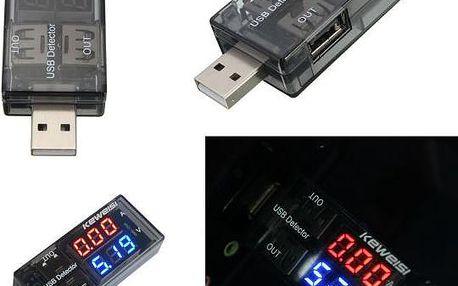 USB tester napětí a proudu - poštovné zdarma