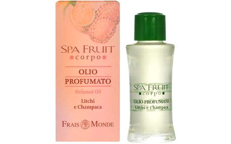 Frais Monde Parfémovaný olej Liči a Champaca (Spa Fruit Litchi And Champaca Perfumed Oil) 10 ml