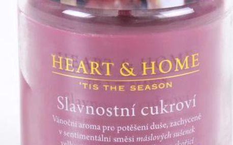 Albi Heart & Home velká svíčka Slavnostní cukroví