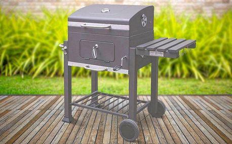 Pojízdný zahradní gril na každé barbecue