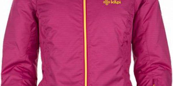 Dámská lyžařská bunda KILPI MILA růžová