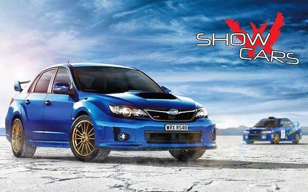 20minutová Rallye v Subaru Impreza WRX STI u Mnichova Hradiště