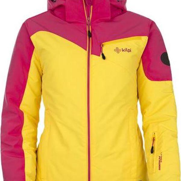 Dívčí lyžařská bunda KILPI KEIRA-JG Růžová