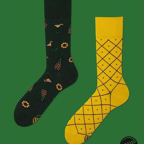 Ponožky Many Mornings Pineapples, vel. 35/38