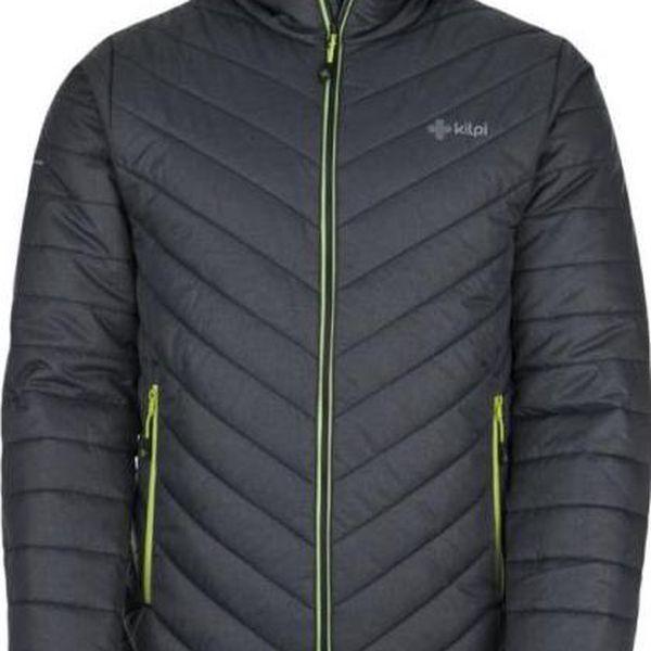 Pánská zimní bunda KILPI JADEL tmavě šedá