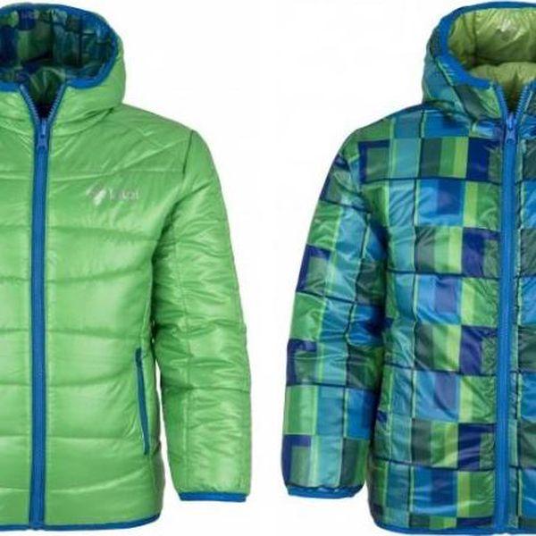 Chlapecká bunda KILPI ORTON-JB zelená