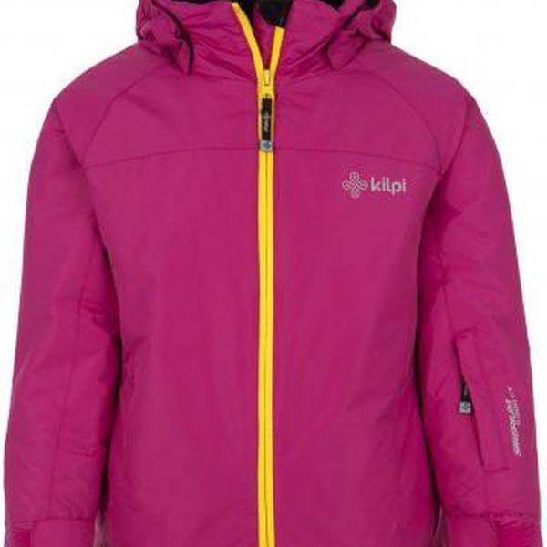 Dívčí lyžařská bunda KILPI MILA-JG růžová