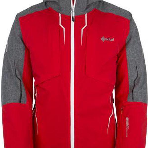 Pánská technická lyžařská bunda KILPI FINN Červená