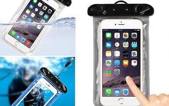 Voděodolné pouzdro na mobil