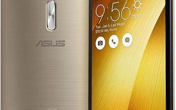 Asus Zenfone 2 ZE551ML 4GB/64GB, zlatý