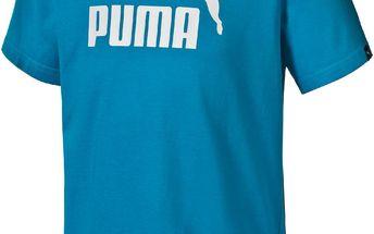 Puma Chlapecké tričko ESS Large Logo - modré