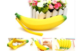 Vtipná peněženka nebo pouzdro Banán