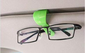Plastový držák na brýle do auta