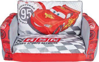 GetGo Dětská pohovka Cars