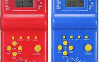 Tetris a další zábavné hry - retro hračka