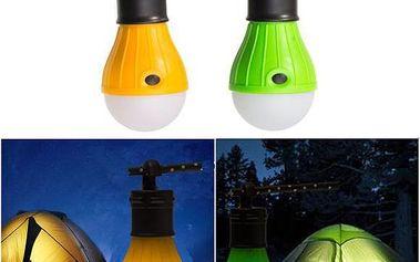 Závěsná outdoor LED lampa ve tvaru žárovky - 2 druhy