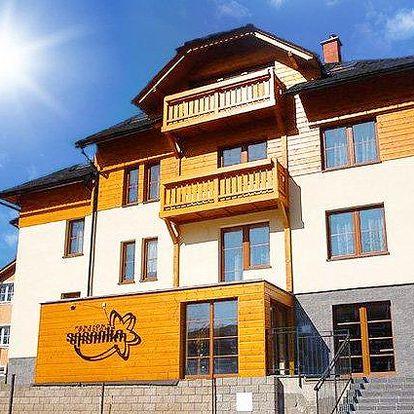 3 až 6denní pobyt pro dva se slevou na wellness v penzionu Sasanka na Slovensku