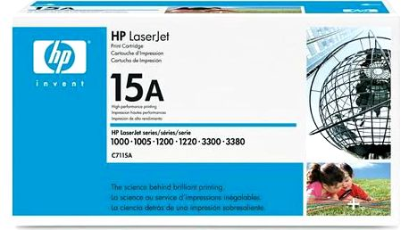HP C7115A, 2,5K stran - originální (C7115A) černá