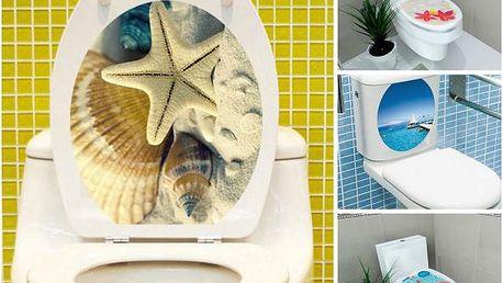 Dekorační samolepky na záchodové prkénko