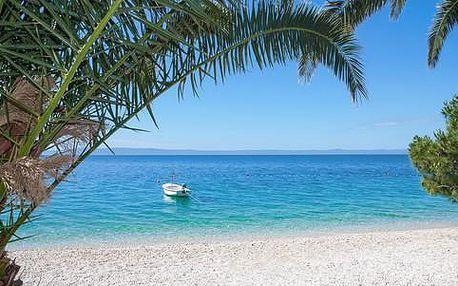 8denní dovolená v letovisku Živogošće na Makarské riviéře s ubytováním v kempu