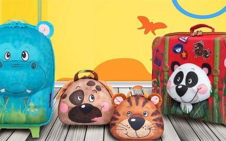 Dětské tašky Okiedog se zvířecími motivy