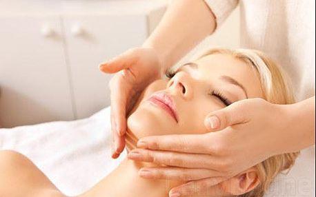 Omladzujúca masáž s čiernymi ríbezľami a vitamínom C + mikromasáž očného okolia