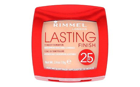 Rimmel London Lasting Finish 25hr Powder Foundation 7 g makeup pro ženy 004 Light Honey