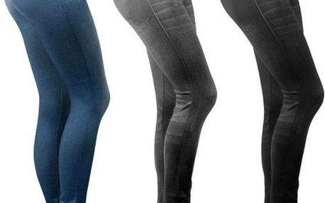 Moderní jeansové legíny - Slim' n Lift Caresse Jeans s doručením zdarma