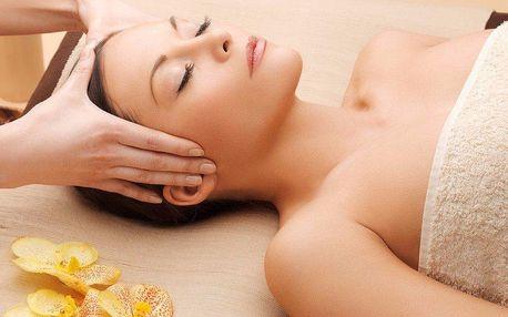 Terapie masáže šíje a Reiki v délce 30 minut